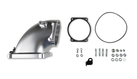 Holley Throttle Billet Body Intake Elbows GM-LS Performance Holley Performance