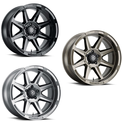 "Icon Alloys Bandit 20"" Wheel Wheels Icon Alloys"