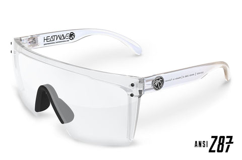Lazer Face Series Clear Z.87 Safety Glasses Sunglasses Heatwave