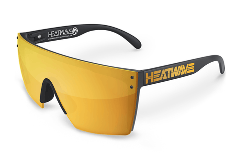Lazer Face Series Gold Billboard Sunglasses-Polarized Sunglasses Heatwave