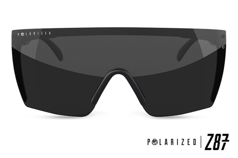 Lazer Face Series Z.87 Black Sunglasses-Polarized Sunglasses Heatwave