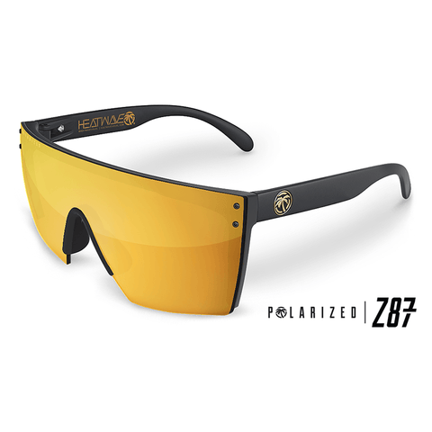 Lazer Face Series Z.87 Gold Rush Sunglasses-Polarized Sunglasses Heatwave