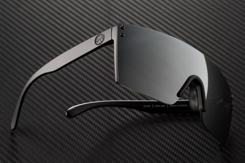 Lazer Face Series Z.87 Silver Sunglasses-Polarized Sunglasses Heatwave