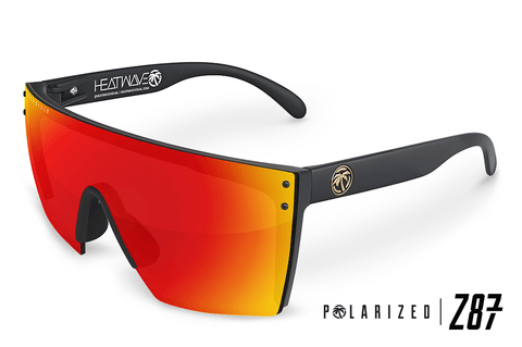 Lazer Face Series Z.87 Sunblast Sunglasses-Polarized Sunglasses Heatwave