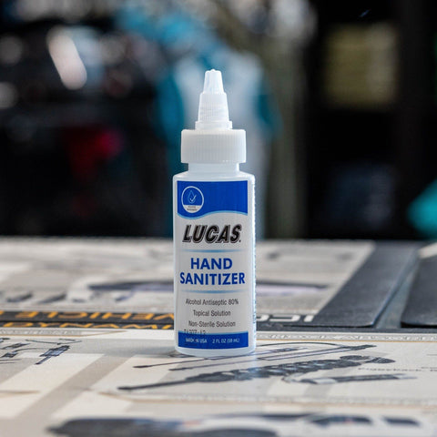 Lucas Oil Hand Sanitizer 1/2 oz-11176 Oils and Grease Lucas Oil