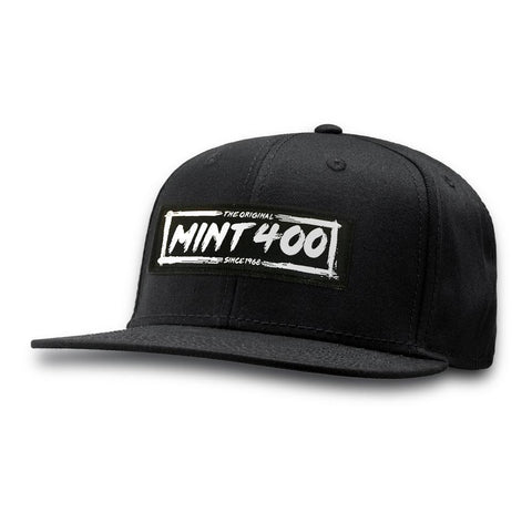 Mint 400 Event Logo 6 Panel Snapback Apparel Dirt Co.