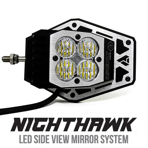 Nighthawk Mirror Kit-Squadron Sport Lighting Baja Designs