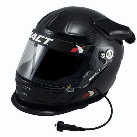 PCI Impact Carbon Air Draft Offset 20 Helmets PCI Radios