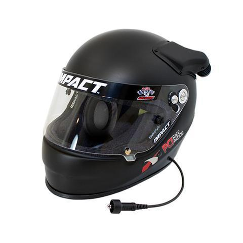 PCI Impact Offset Evo Helmet with Ear Cups Helmets PCI Radios