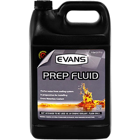 Prep Fluid Oils, Greases , Additives Evans Water Coolant