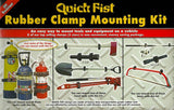Quick Fist 8-Piece Clamp Mounting Kit Quick Fist Clamp Quick Fist Clamps