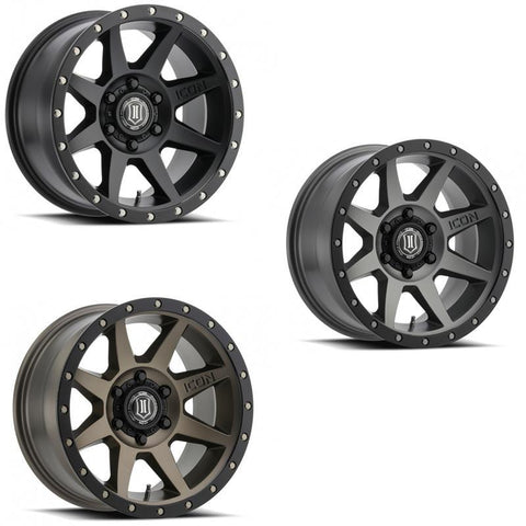 "Rebound | 17"" Wheel Wheels Icon Alloys"