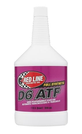 Red Line Automatic Transmission Fluid-D6 ATF Oils and Grease Red Line