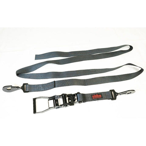 "SDHQ 2"" Strap w/ Long Ratchet Handle and Twisted Snap Hooks Straps SDHQ Off Road"