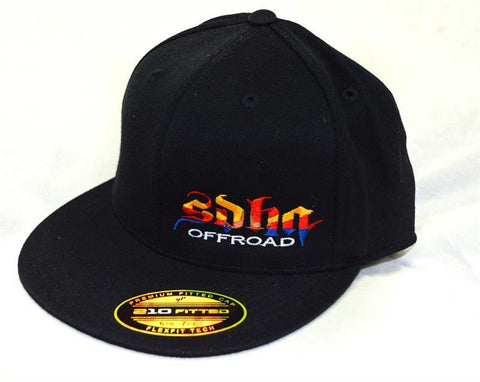 SDHQ Arizona Flex Fit Hat Apparel SDHQ Off Road