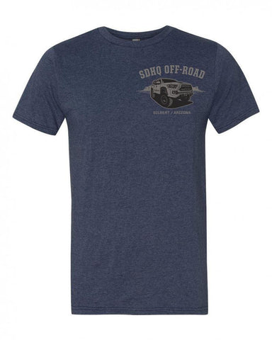 SDHQ Mens Tacoma Expo T-Shirt-Blue Apparel SDHQ Off Road