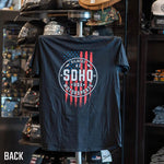 SDHQ Motorsports Outline USA T-Shirt Apparel SDHQ Off Road