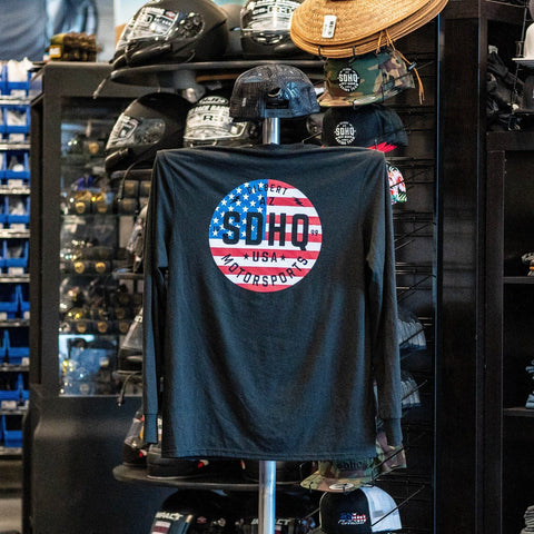 SDHQ Motorsports USA Long Sleeve T-Shirt Apparel SDHQ Off Road