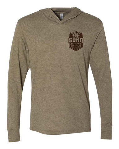 "SDHQ ""Outdoor Division"" Hooded T-Shirt Apparel SDHQ Off Road"