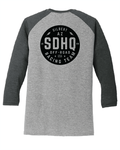 SDHQ Womens 2018 Race Baseball Tee Apparel SDHQ Off Road