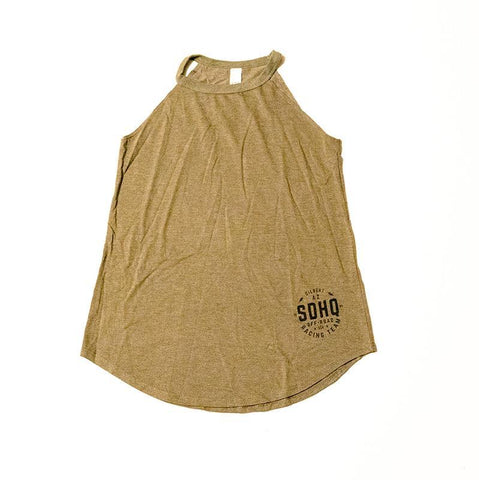 SDHQ Womens 2018 Race Rocker Tank - OD Green Apparel SDHQ Off Road