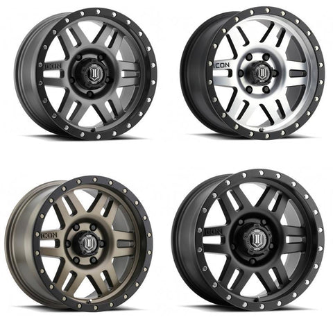 "Six Speed | 17"" Wheel Wheels Icon Alloys"
