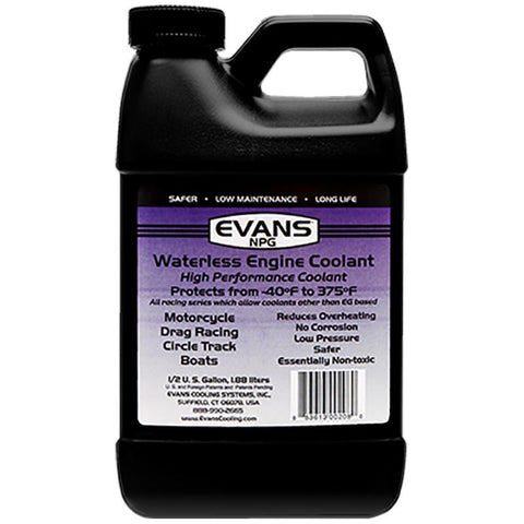 Specialty Coolant (NPG) Oils, Greases , Additives Evans Water Coolant