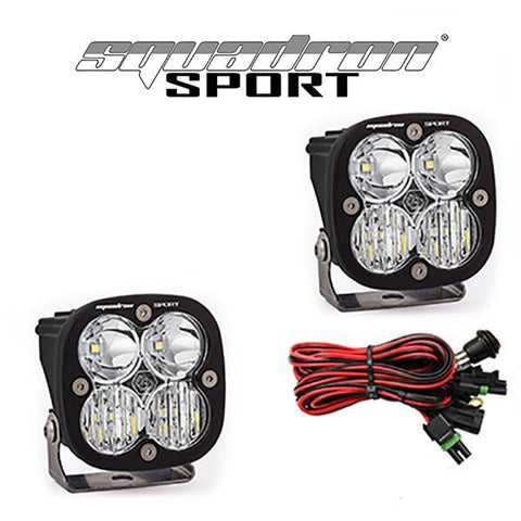 Squadron Sport LED Light | Pair Lighting Baja Designs