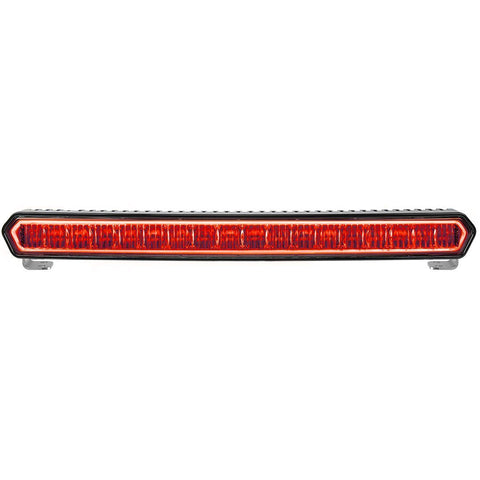 "SR-L Series 20"" Off-Road LED Light With Red Halo Lighting Rigid Industries"