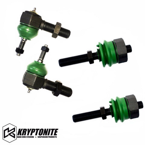 Tie Rod Rebuild Kit For Tie Rods With Stock Center Link Suspension Kryptonite