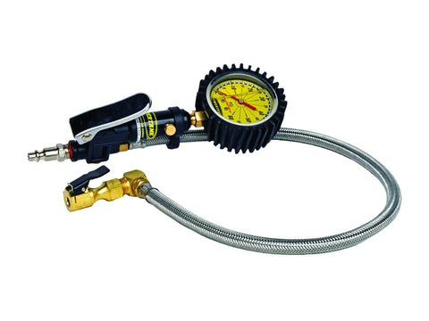 Tire Inflator with Guage and 2ft Braided Hose Recovery Gear PowerTank