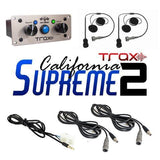TRAX California Supreme Package Communications PCI Radios