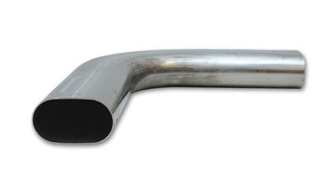 Vibrant 304 Stainless Steel Oval Mandrel Bends - Horizontal Plane Fabrication Vibrant Performance