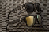 Vise Series Frosted Smoke Sunglasses Sunglasses Heatwave