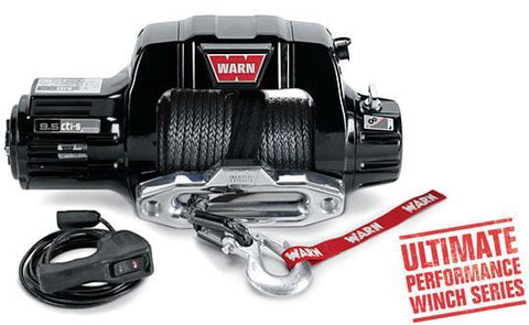 Warn 9.5cti Thermometric Winch Ultimate Performance 9,500 Lb Capacity Winch Warn Industries