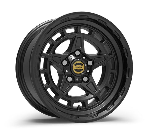 Warn Epic Wheels | Diamond Cutter Wheel-Black Wheels Warn Industries