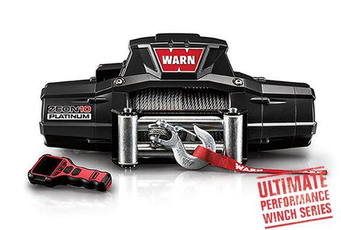 Warn ZEON 10 Platinum Ultimate Performance Winch 10,000 Lb Capacity