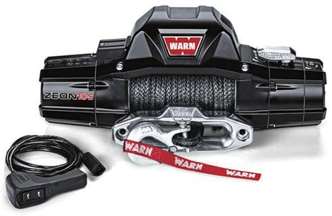 Warn ZEON 10 Premium Winch 80' Galvanized Steel Wire Rope 10,000 Lb Capacity Winch Warn Industries
