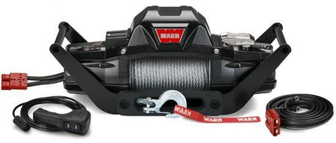 "Warn ZEON 8 5/16"" Wire Rope Portable Winch Multi-Mount 8,000 Lb Capacity"