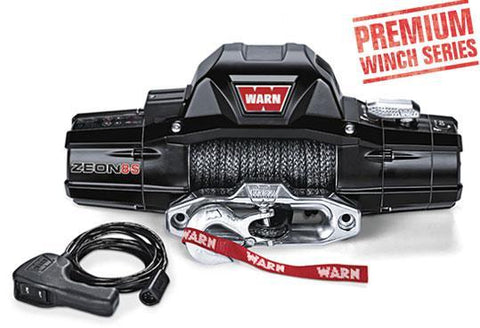 Warn ZEON 8-S Premium Winch W/Spydura Synthetic Rope 8,000 Lb Capacity Winch Warn Industries