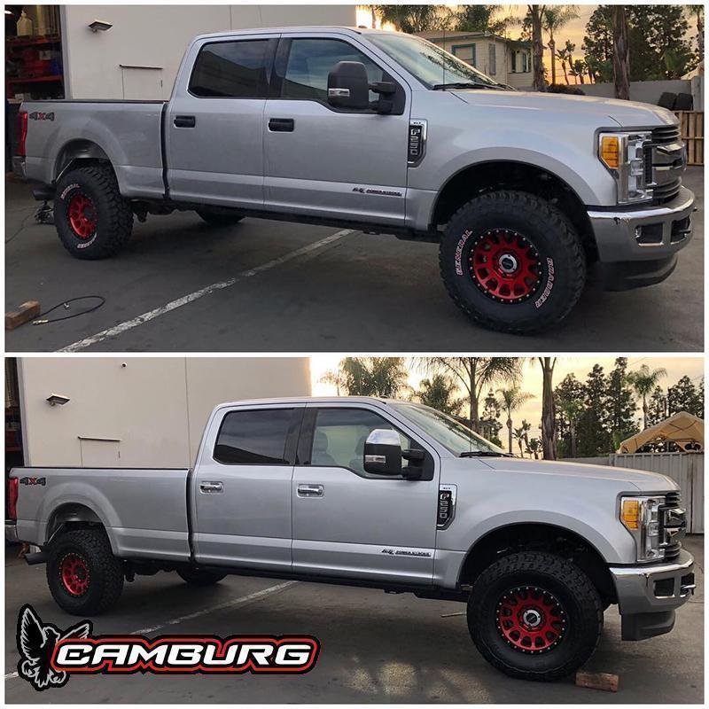'05-Current Ford F250/350 Camburg Engineering
