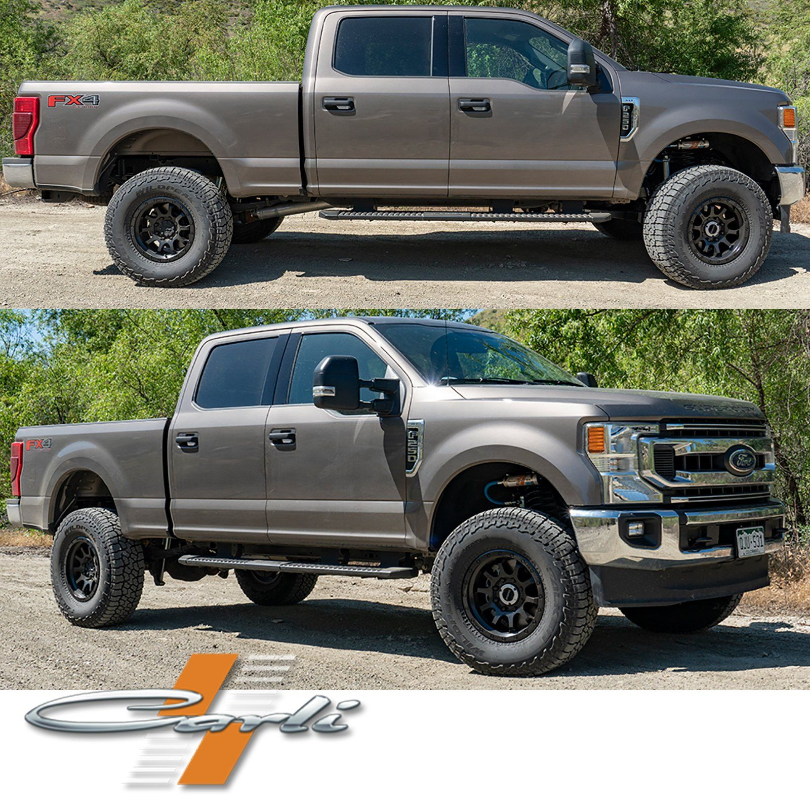 Carli Suspension | '17-Current Ford F250/350 6.2/7.3L Gas Complete Suspension Systems