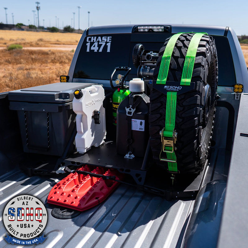 '19-Current Ram 2500/3500 SDHQ Built In Bed Chase Rack