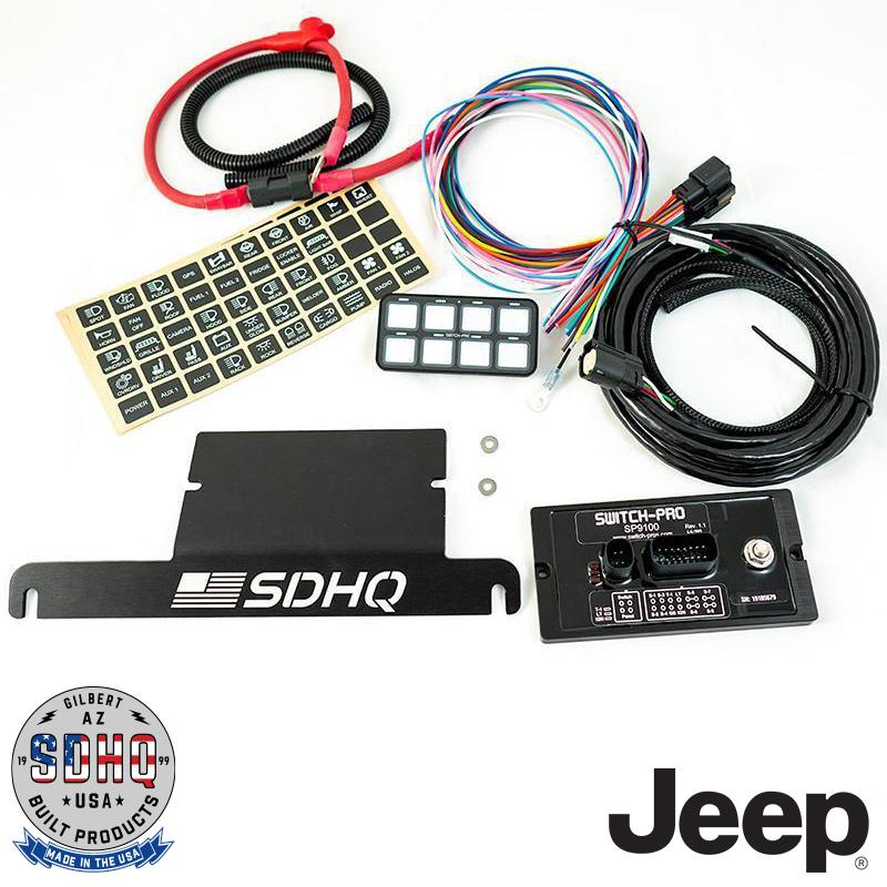 SDHQ Built Switch Pros Mounts | Jeep