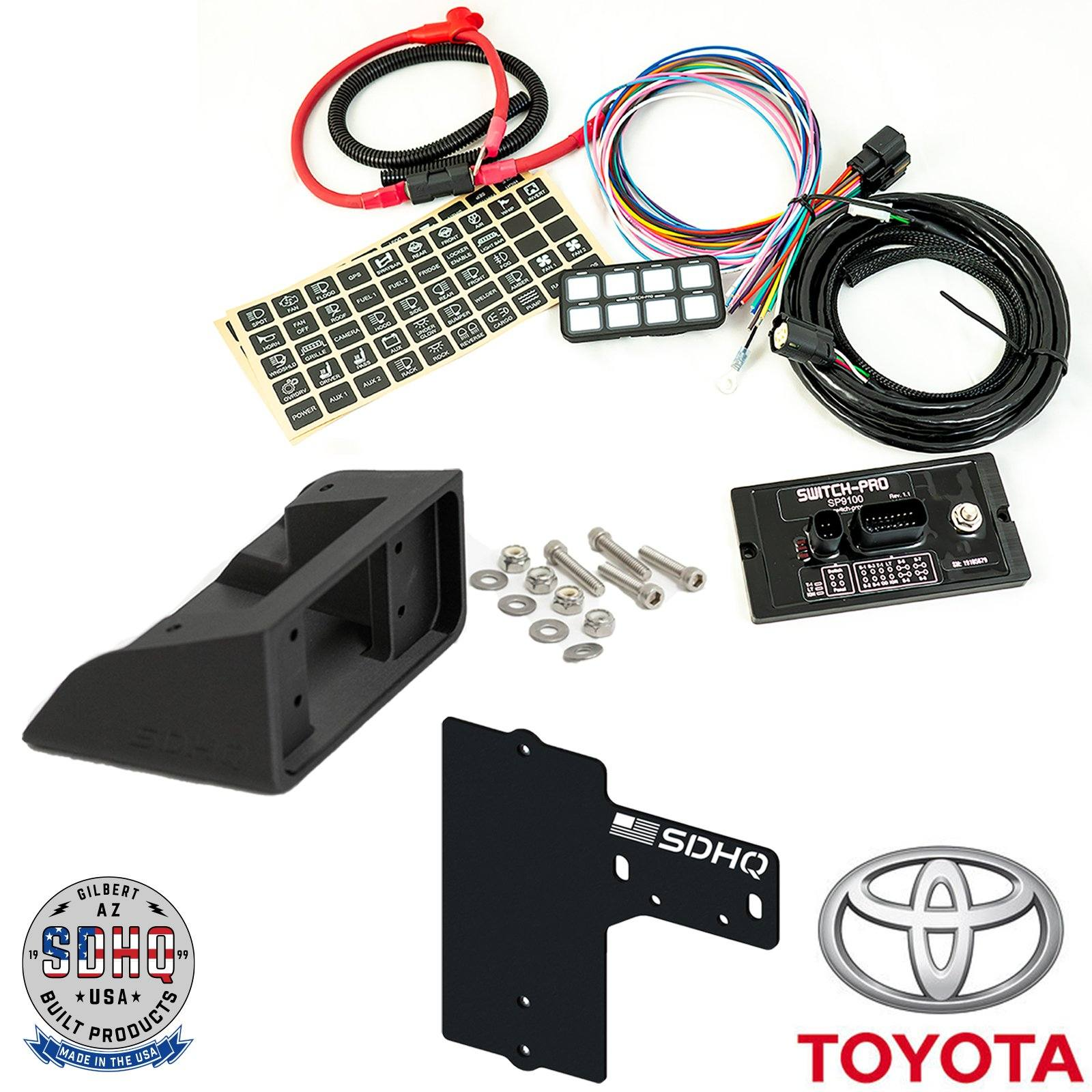 SDHQ Built Switch Pros Mounts | Toyota