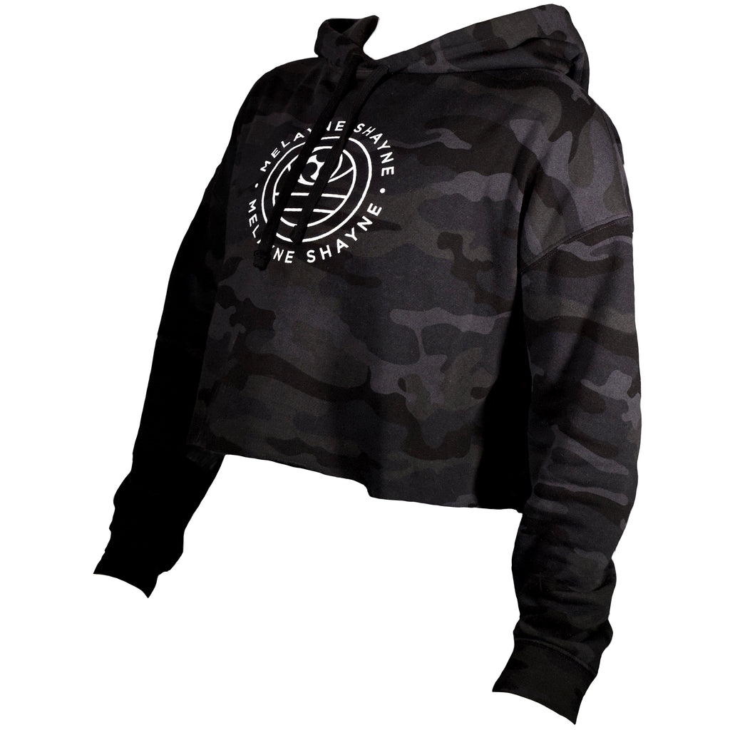 THE WARRIOR WOMEN CROP HOODIE
