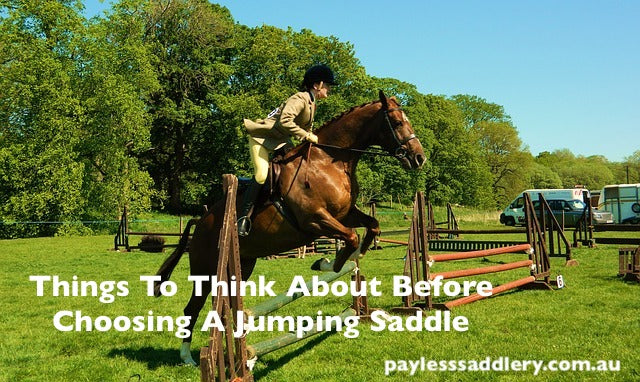 Things To Think About Before Choosing A Jumping Saddle