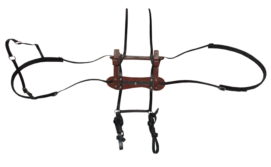 Donkey Pack Saddle with Mounting Harness