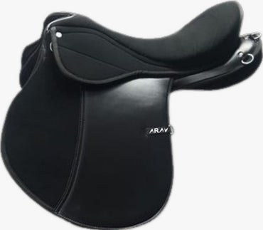 CHANGEABLE GULLET- Endurance English Saddle-  With 4 Gullet set - Size 16/17/18