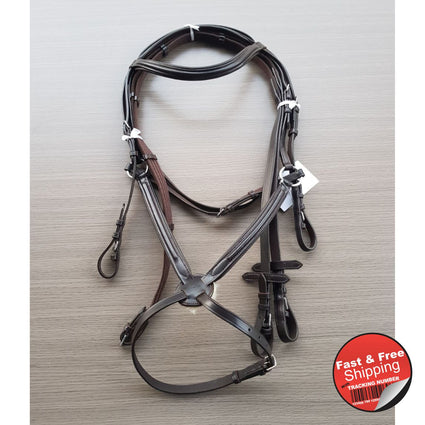 Mexican Brown Leather Bridle